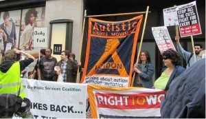 Demo at the Daily Mail 14th April
