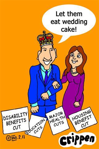 Crippen's 'eat cake' cartoon