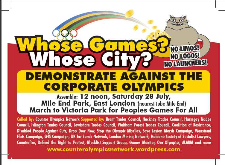 whose Games? Whose city flyer